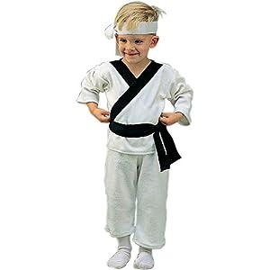 Lil Karate Infant & Toddler Costume (1-2 Infant/White)