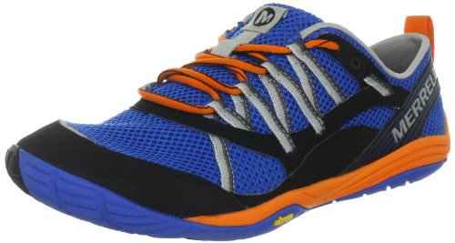 MERRELL Flux Glove Sport Men's Running Shoes, Blue/Orange, UK12.5