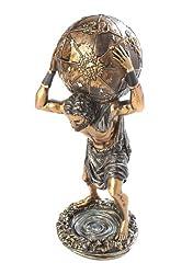 "Pantheon 12"" x 5"" x 4"" Greek Mythological Figurine - Atlas (9034 US)"