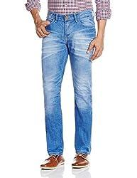 Celio Men's Slim Fit Jeans (3596654337021_DOAQUASLBLEACHED_86_Bleached)