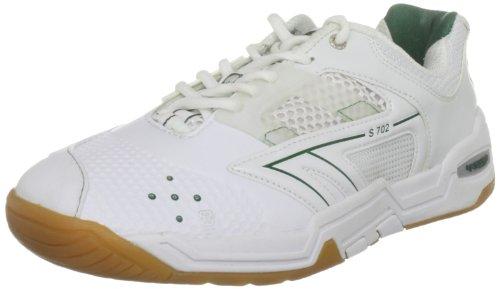Hi-Tec Sports Men's S702 4:SYS White/Green Court Trainer C001482/012/01 8 UK