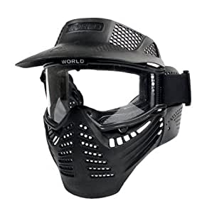 Amazon.com : Scott Vectra Airsoft/Paintball Full Goggle Mask Airsoft