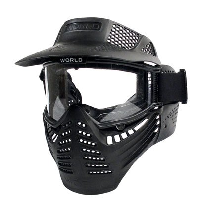 World Tech Arms Survivor Full Face Mask, Goggles 