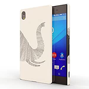 Koveru Back Cover Case for SONY XPERIA Z4 - White Elephant