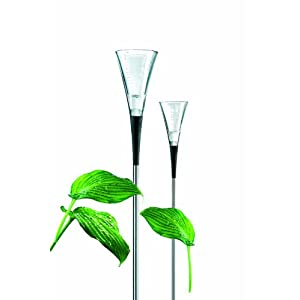 Eva Solo Glass Rain Gauge with Steel Rod