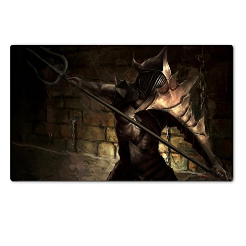 Liili Premium Large Table Mat 28.4 x 17.7 x 0.2 inches illustration of ancient gladiator hero Photo (Pictures Of Gladiators)