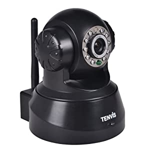 TENVIS IP CAMERA Black 25 fps 640×480 JPT3815
