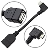 aLLreli® Micro USB Host OTG Adapter Cable   LIFETIME WARRANTY!  for Google Nexus 7 2 / 5   Motorola Moto G Phone Xoom   Samsung Galaxy S4 S5 S2 S3 Note 2 & Note 8.0 / 10.1 2014 Edition Tablet Tab 3 8.0 10.1   HTC One Archos G9 80 101 Tablet   Sony Xperia