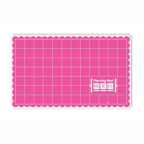 We R Memory Keepers Piercing Mat, 6-1/2 by 8-1/2-Inch