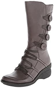 Miz Mooz Women's Olsen Boot, Grey, 41 BR/10 M US