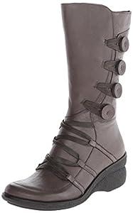 Miz Mooz Women's Olsen Boot, Grey, 41 BR/10 M US
