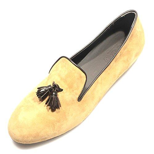 82531 mocassino HOGAN WRAP 144 PANTOFOLA CON NAPPINE scarpa donna loafer shoes w [38]