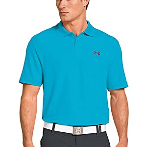 2014 Under Armour Men's Golf Performance Polo 2.0 Alpine/Anthracite Small