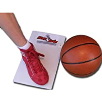 StepnGrip Personal Size Board - Stop Slipping on the court. Travel size. Uses sticky replacement sheets