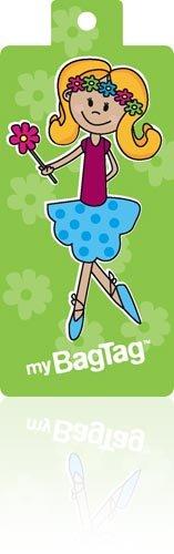 Girl Bag Tag x 2