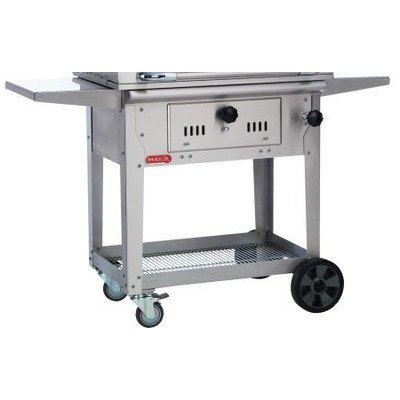 Find Bargain Bull Outdoor Products 67531 Bison Charcoal Stainless Steel Grill with Cart