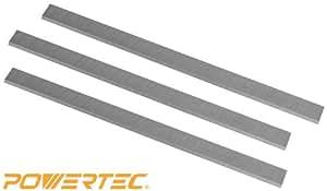 "POWERTEC HSS Planer Blades for JET 15 "" Planer 708529G, JWP-15CS, JWP-15HO, Set of 3"