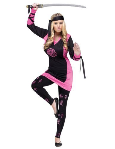 Costumes For All Occasions Women's Dragon Ninja Costume