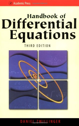 Handbook of Differential Equations, Third Edition