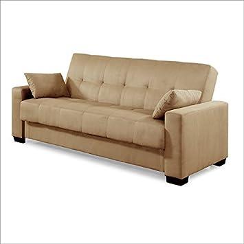 Serta Dream Convertibles Napa Convertible Sofa in Jazz Beach