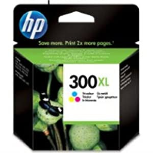 HP CC644EE#UUS 300XL Ink Cartridge with Vivera Inks - Tri-colour