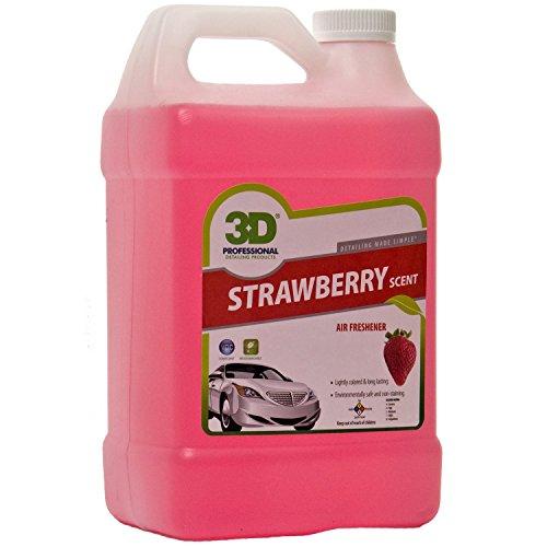 3d air freshener strawberry 1 gallon car interior depot. Black Bedroom Furniture Sets. Home Design Ideas