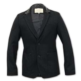 Men's Blazer Brave Soul SWEENEY Black X Large