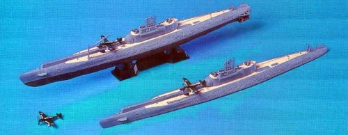 Skywave 1/700 IJN Submarine I13 and I14 Model Kit