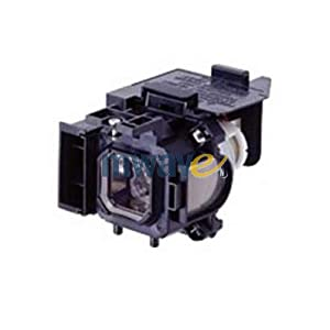 Mwave Lamp for CANON LV-7365 Projector Replacement with Housing