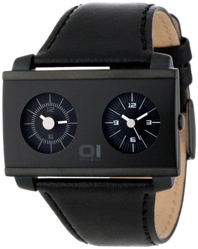 01Theone Unisex An05Bk01B1 An05 Dual Time Watch