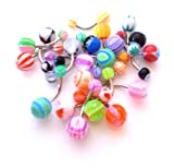 Bodfx Belly Ring Assorted Wholesale Lot of 20 Belly Button Navel Rings