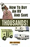 How to Buy an Rv and Save $10000S! (0937877387) by Wright, Don