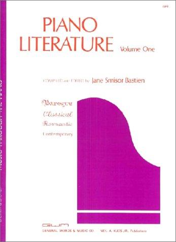 Bastien Piano Literature: Volume 1