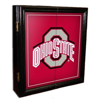 ▷▷▷ MVP Collegiate Dart Board Cabinet - Ohio State Shopping ...