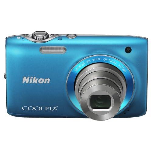 NikonデジタルカメラCOOLPIX S3100 カジュアルブルー S3100BL