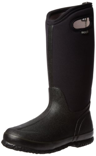 Bogs Women's Classic High Handle Waterproof Insulated Boot,Black,8 M US (Bogs Rain Boots Women compare prices)