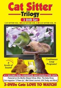 Image Cat Sitter DVD Trilogy - Vol 1, Vol 2 and Vol 3