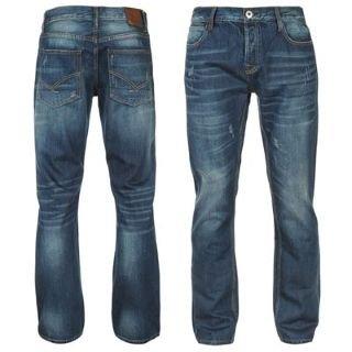 Firetrap Rom Jeans Mens Mid Wash 34W R