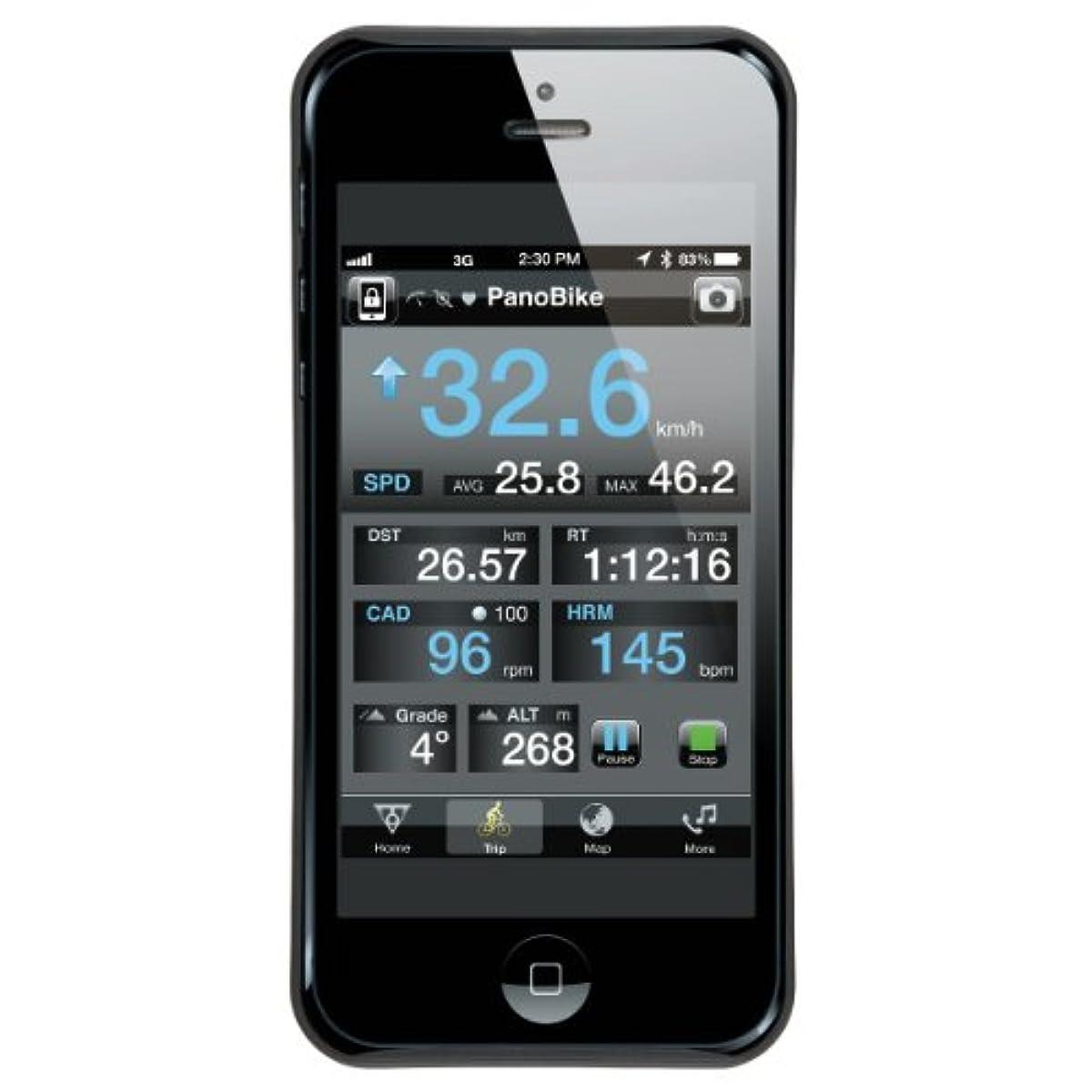 [해외] TOPEAK(도피쿠) 라이드 케이스(iPhone 5/5S 용)세트 컬러:블랙