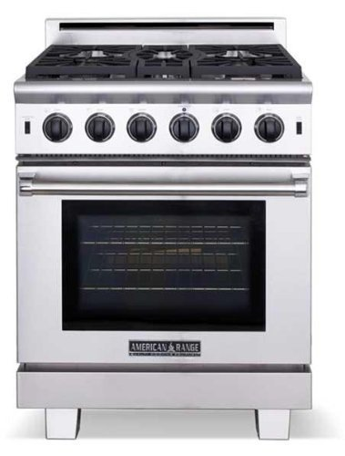 American Range ARR530N Cuisine Series 30 Sealed Burner All Gas Range - Stainless Steel