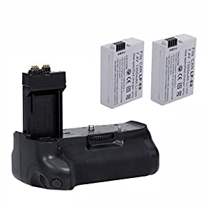 Neewer® High Capacity Battery Pack / Vertical Grip + 2 LP-E8 Batteries for Canon EOS Rebel T2i Digital SLR Camera