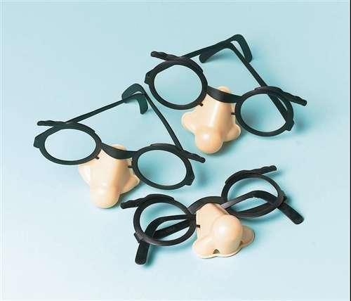 Funny Glasses (1 dz) [Toy] - 1