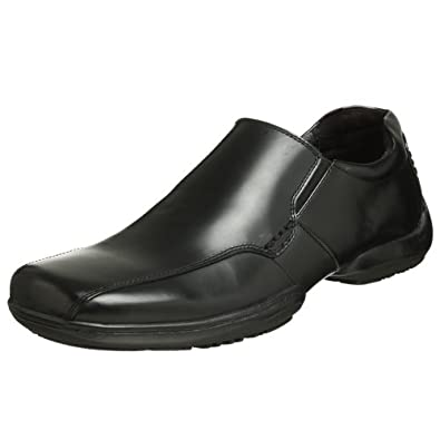 Unlisted Kenneth Cole Men's Quick Draw Bike Toe Slip On,Black,11 M US