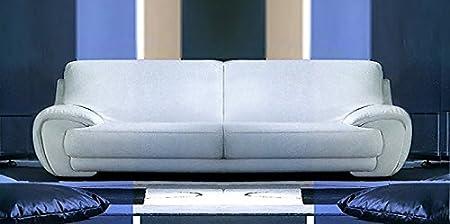 Calia Maddalena Gilda-Sofá-modular, Cuir Série Pitone Vert, Fauteuil - 140x82x90cm