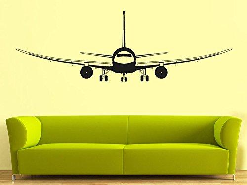 Wall Decal Vinyl Sticker Decals Art Decor Design Airplane Military War Air Aviation Sky Attack Man Boys Bedroom Living Room Nursery(R838) front-885776