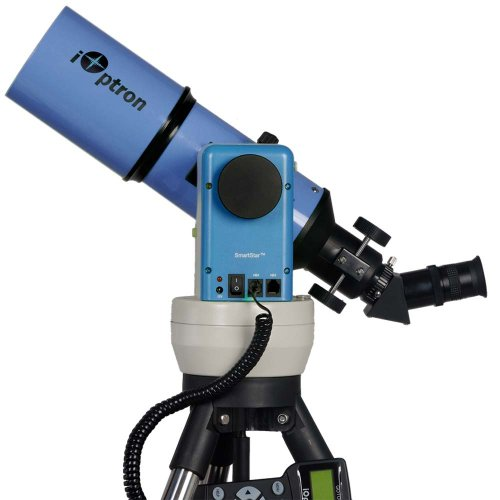 Ioptron Smartstar-A-R80 8602B Gps Computerized Telescope With Dual Altaz/Eq Mount (Astro Blue)