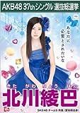 【北川綾巴】ラブラドール・レトリバー AKB48 37thシングル選抜総選挙 劇場盤限定ポスター風生写真 SKE48チームS
