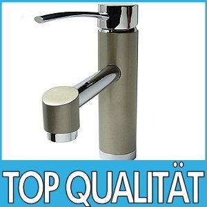 Élégant et moderne mélangeur robinet appareil Marron / Beige