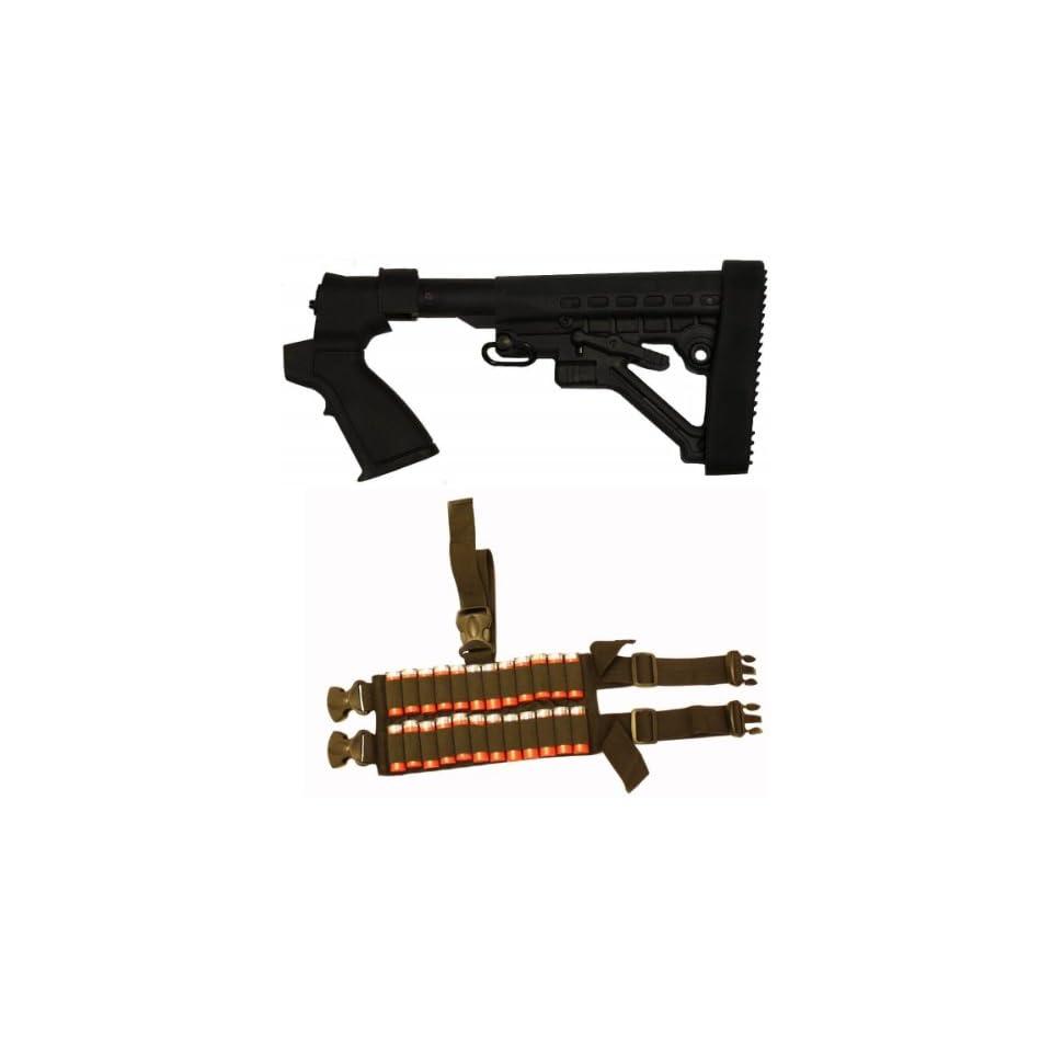 Tactical Stealth Black Mossberg 500 590 835 Maverick 88 12