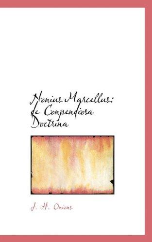 Nonius Marcellus: de Conpendiosa Doctrina